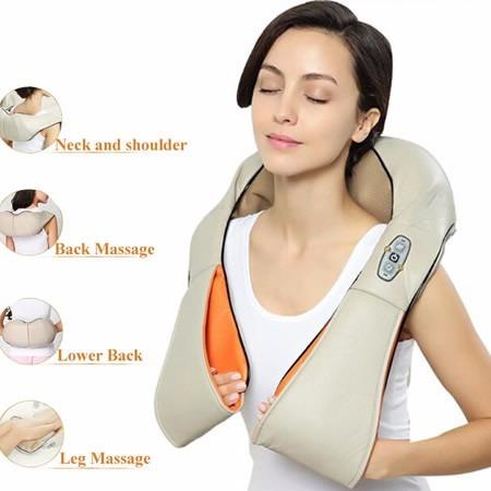 Kết quả hình ảnh cho đai massage vai lưng cổ eneck