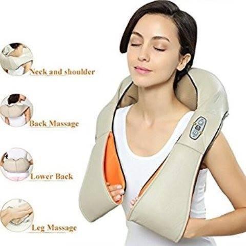masajeador cuello cervical ultra potente espalda infrarrojo