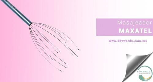 masajeador de cabeza / maxatel / piojito / antiestrés 2x1