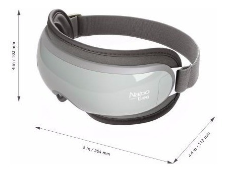 masajeador de ojos con presión aire caliente naipo mge-is3