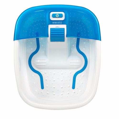 masajeador de pies homedics fb-50d spa deluxe burbujas calor