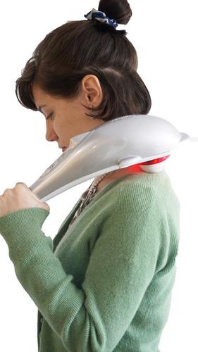masajeador delfín caliber con infrarrojo | cuello y espalda