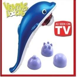 masajeador delfin grande eléctrico super relajante(consultar