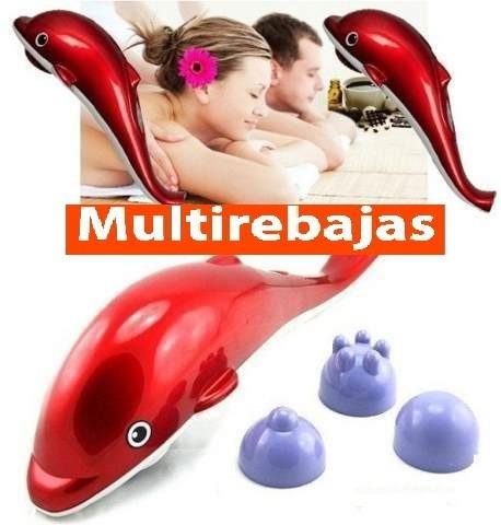 masajeador eléctrico con infrarrojo antiestres delfín