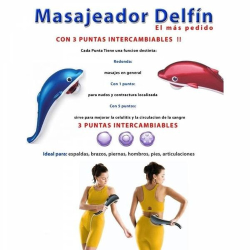 masajeador eléctrico con infrarrojo antiestres delfín oferta