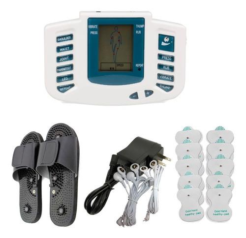 masajeador electrónico acupuntura - quema grasa - electrodos
