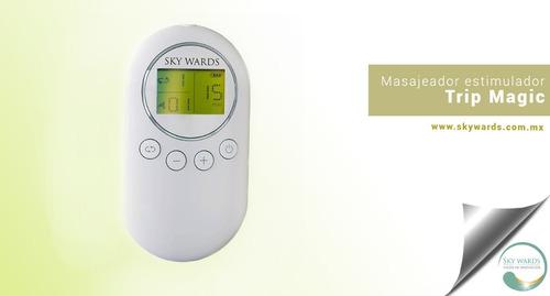 masajeador estimulador electro reductivo tonifica relajante