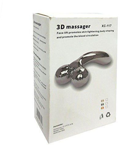 masajeador facial de rodillos 3d massager al-117