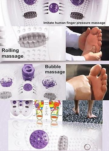 masajeador kendal relajante tina pies descanso equipo