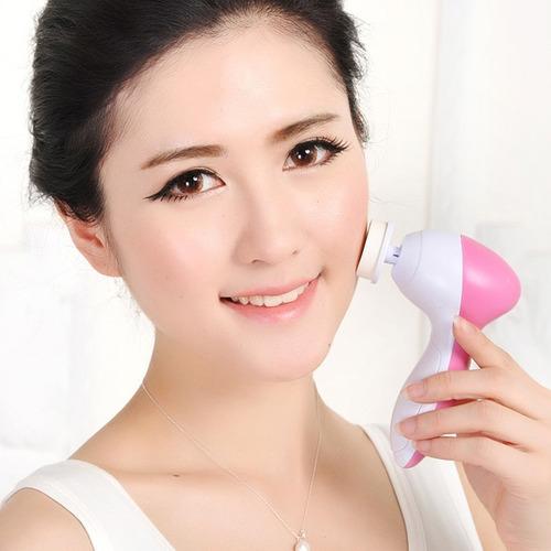 masajeador limpiador exfoliante facial 5 en 1 original