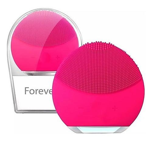 masajeador limpiador facial limpia cutis maquillaje forclean
