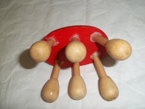 masajeador manual de madera san antonio calambres profundos