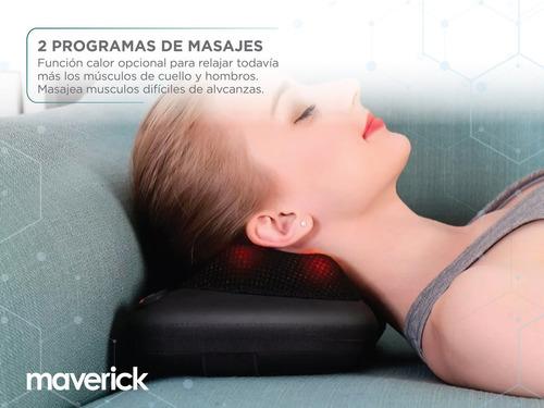 masajeador maverick 4 nodos con calefacción london