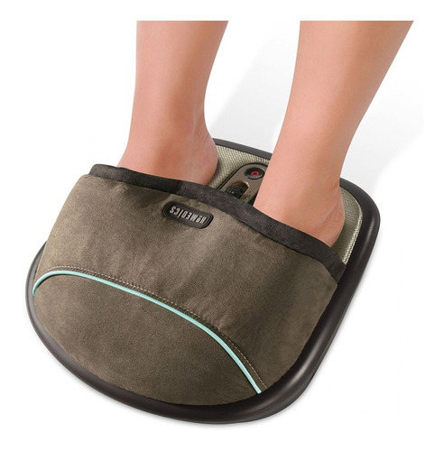 masajeador pies homedics fms-275h shiatsu con aire calor