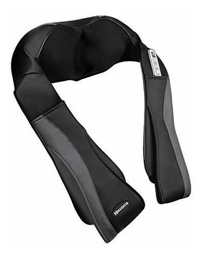 masajeador portátil de cuello hombros terapia calor espalda