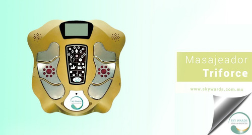 masajeador triforce instrumento profesional de terapia