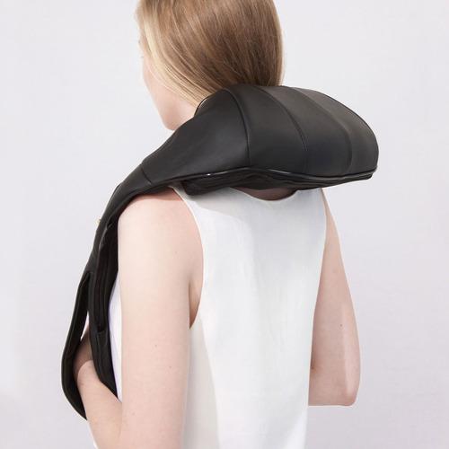 masajeador wolke cervical lumbar espalda 8 rodillos + bolso