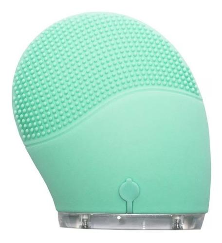 masajeador y cepillo electrónico facial acquamarine mantra