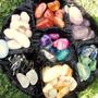 Minerales Piedras Naturales Amatista-citrino-turmalina Y Otr
