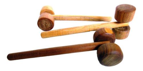 masajeadores rodillo manual giratorio madera vera