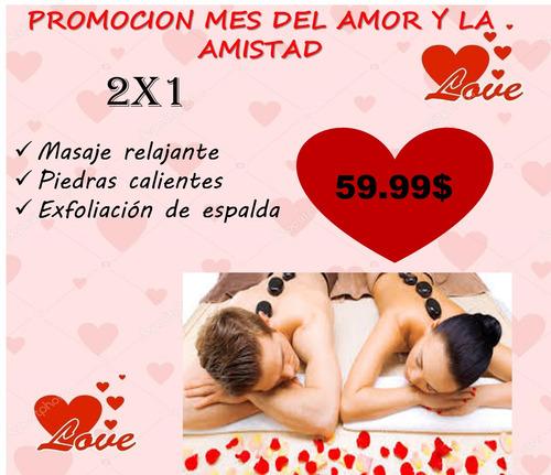 masajes 2x1 mes del amor