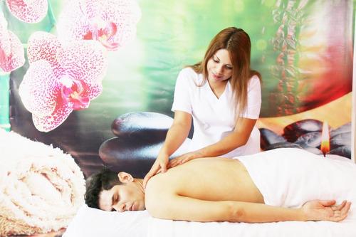 masajes a domicilio : técnicas anti stress en surco