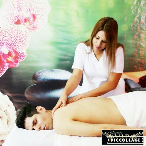 masajes a domicilio: técnicas profesionales contra el estrés