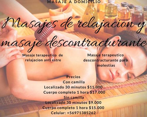 masajes anti estrés