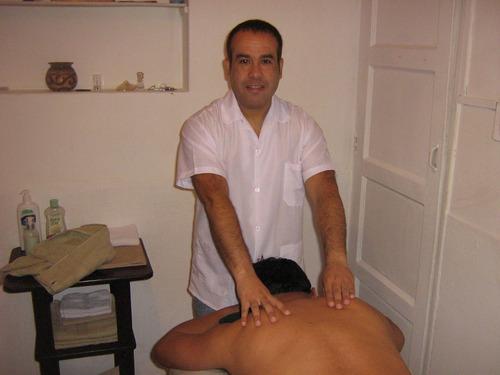 masajes antiestres relajantes descontracturantes  lince
