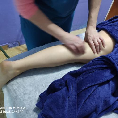 masajes descontracturantes, deportivos, shiatsu, quiropraxia