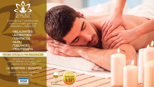 masajes exoticos, eróticos, sensuales en miraflores