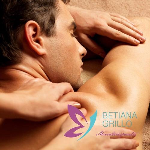 masajes profesionales. relajantes y antiestres. zona oeste.