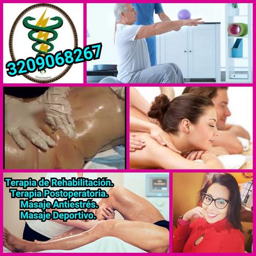 masajes relajantes antiestrés a domicilio bogota