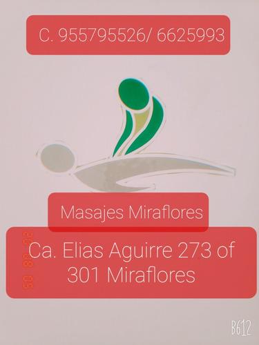 masajes relajantes, atiestrés y  mas.. en miraflores