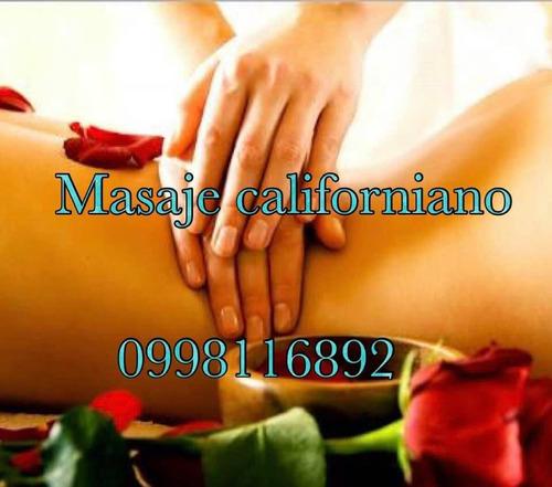 masajes relajantes, descontracturantes antiestres.0998116892