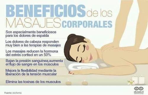 masajes relajantes descontracturantes sedativos sensitivos c