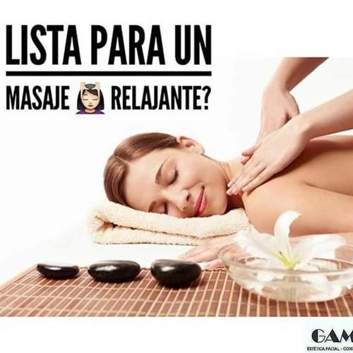 masajes relajantes para el estrés