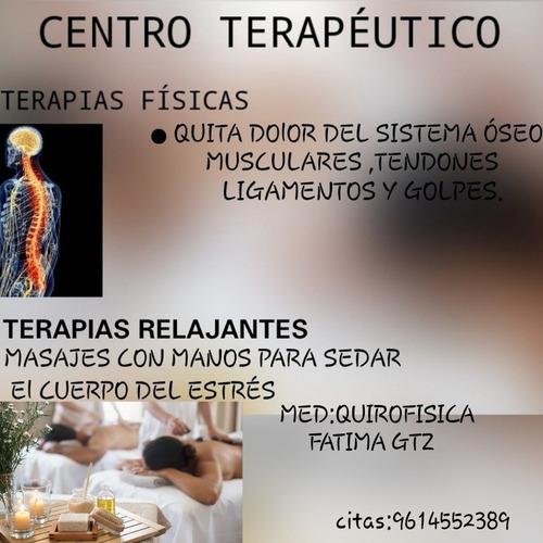 masajes relajantes y rehabilitación  fisica