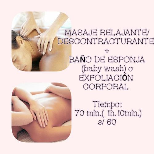masajes/ surco