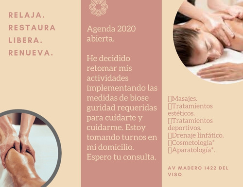 masajes terapéuticos ambos sexos.