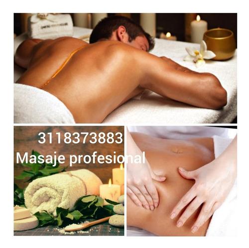 masajes terapeuticos y descontracturantes