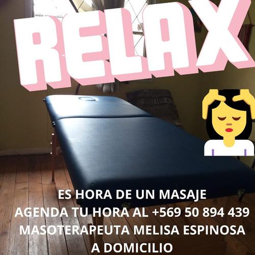 masajes terapeúticos  y lifting de pestañas  a domicilio