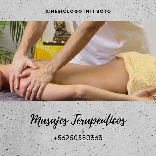 masajes terapéuticos y terapias físicas por kinesiólogo