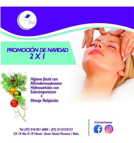 masajes y limpiezas faciales y microdermoabrasion  pereira