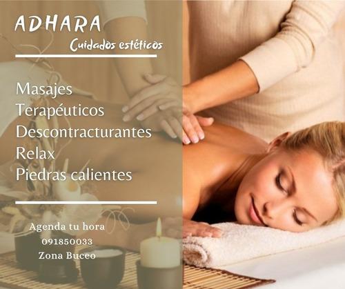 masajes y tratamientos corporales
