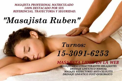 masajista a domicilio masaje descontracturante para la mujer