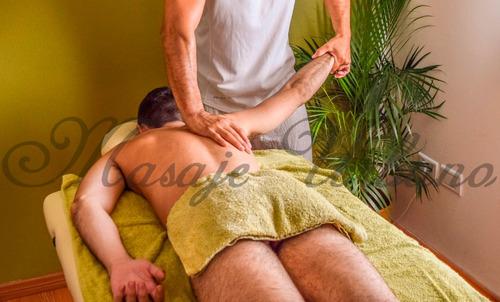 masajista masculino profesional atencion a caballeros