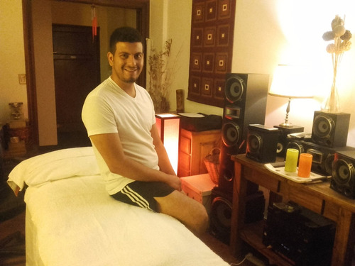 masajista masculino profesional relax total