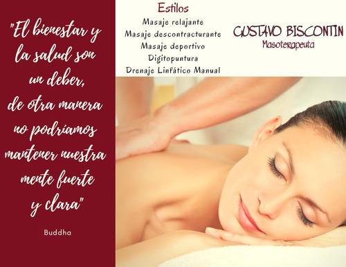 masajista profesional (masajes y digitopuntura)