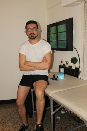 masajista profesional masculino